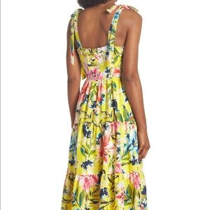 Eliza J Bow Front Tie Strap Dress